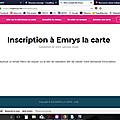 Informations sur Emrys La carte, le plan retraite de consommateur.