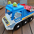 00912 CAMION TYPE AMPHIBIE (7) KARTING MARQUE SMOBY (MOB SUPERJOUET)