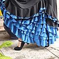 Des volants, et des volants... en noir et bleu por tangos(suite)