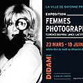 Femmes photographes, au didam