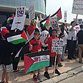 Solidarité avec Gaza : Blocus contre <b>Israël</b> sur la côte ouest des États-Unis
