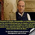 <b>Henri</b> Comte de Paris --- Afin que vive la France
