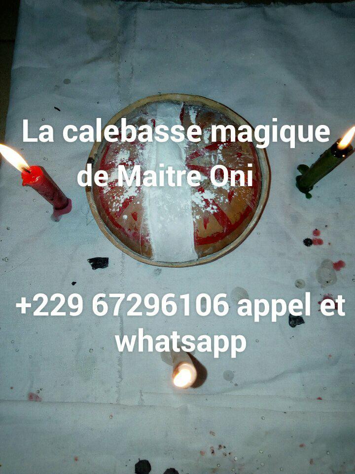 LA CALEBASSE MAGIQUE DE MAÎTRE ONI