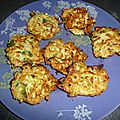 Croquettes courgettes-cereales