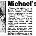 Michael's main man - 1984