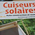 Cuiseurs solaires ,auto construction et recettes. Rolf Behringer et michael Götz , Editions La Plage