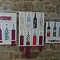 les bouteilles des élèves de Béatrice Giffo