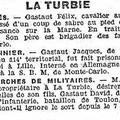 Petit nicois 17 octobre 1914