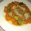 Sauté de veau et légumes à la provençale