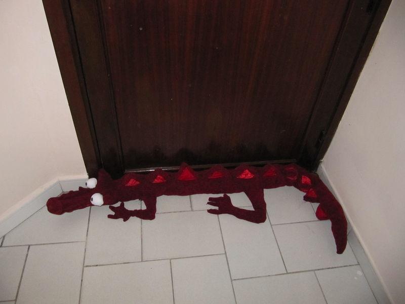 Un dragon de porte