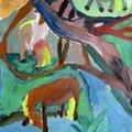 Moana d'après Gauguin enfant