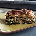 Lasagnes saumon/epinard