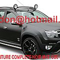 DACIA DUSTER, tuning <b>covering</b> sticker auto, autocollant auto noir <b>mat</b> Total <b>covering</b> noir <b>mat</b>, peinture <b>covering</b> noir <b>mat</b>, cove