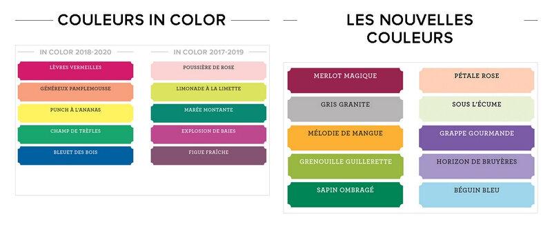 In color et nouvelles couleurs