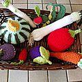 Panière de légumes