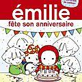 Emilie fête son anniversaire