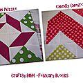 Craftsy BOM -Les blocs de février