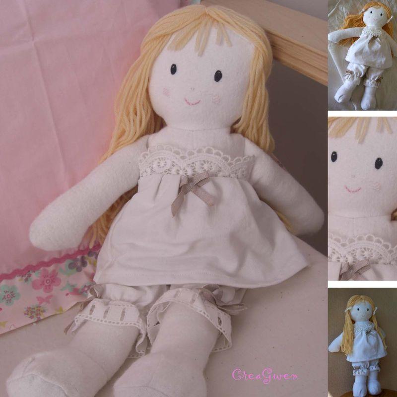 grande poupées blonde