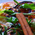 Miss tiny est légère: pizza pomm'aubergine aux épices douces