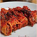 Cannelloni à la tomate et ricotta