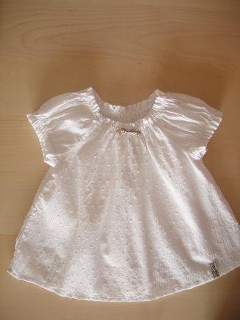 coton plumetis blanc froissé