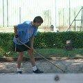 90 - Préparatif Beach Volley