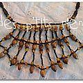 collier perles/graines