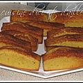 Mini <b>cake</b> à la clémentine