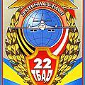 Les bombardiers stratégiques de la force de frappe nucléaire russe en patrouille au-dessus de l'amérique
