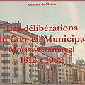Généathème : les <b>délibérations</b> municipales …