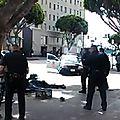 Des policiers tuent un sans-abri à <b>Los</b> <b>Angeles</b> par balle : la vidéo qui choque les USA