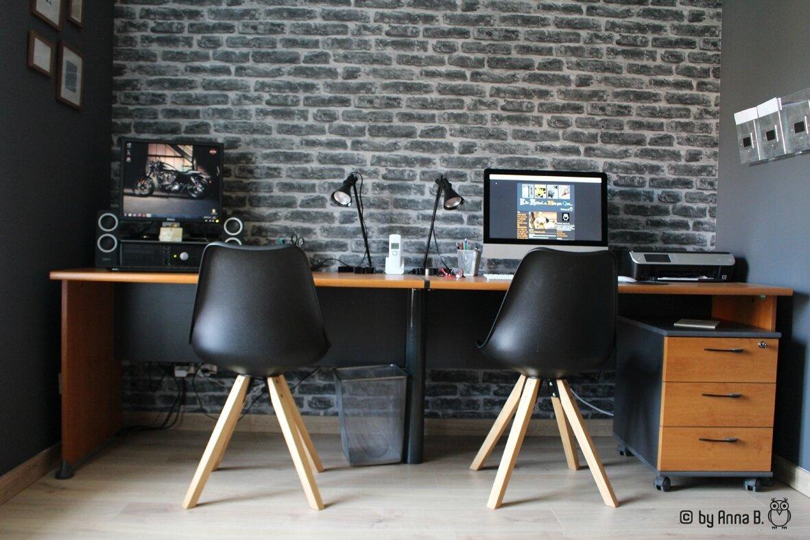 Enfin un bureau...