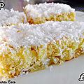 moelleux ananas coco- la cuisine d'anna purple