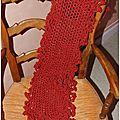 écharpe longue