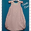 Baby <b>Sleeping</b> <b>bag</b> pour mini princesse