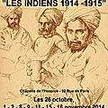 Troupes Indiennes 1914-1915