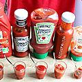 5 ketchups