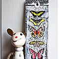 Un papillon posé sur ma page.....