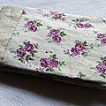 10. lin et fleurs violettes