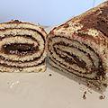 Gâteau roulé à la pâte de spéculoos