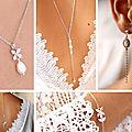 Collection 2020 - Bijoux mariage et accessoires pour la mariée