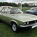 Opel manta a, 1972