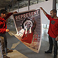 Montage Exposition Jamel Shabazz - Maison Folie Wazemmes - 2012