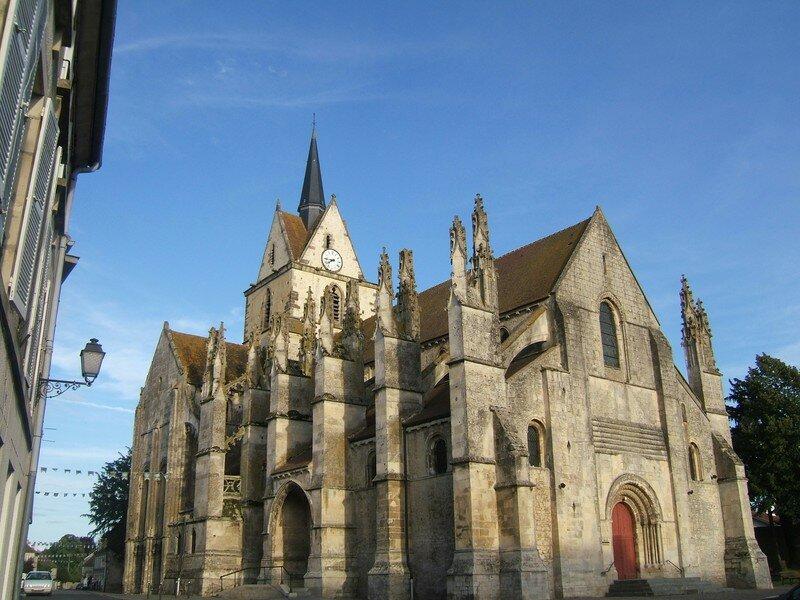l'église de Notre Dame de Guibray à Falaise