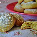 Hélènettes, biscuits aux jaunes d'oeuf
