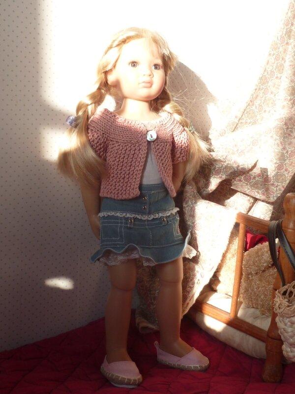 Louisa en plein soleil