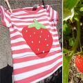 Fruits de saison ou une envie de rouge!