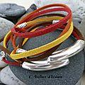 Voici un <b>bracelet</b> rempli de soleil !
