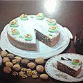 Le périgourdin, gâteau aux noix