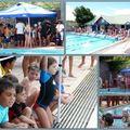 Premiere competition de natation